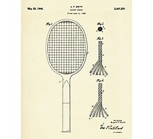 Racket String-1946 Photographic Print
