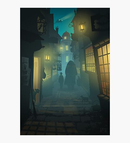 Diagon Alley Photographic Print