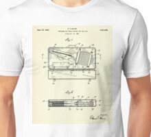 Container for Tennis Racket and the Like-1925 Unisex T-Shirt