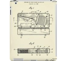 Container for Tennis Racket and the Like-1925 iPad Case/Skin