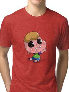 Clarence Cute Tri-blend T-Shirt