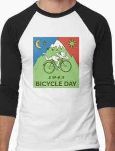 LSD - Bicycle Day 1943 Vintage T-Shirts Men's Baseball ¾ T-Shirt