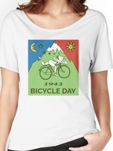 LSD - Bicycle Day 1943 Vintage T-Shirts Women's Relaxed Fit T-Shirt