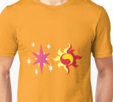 My little Pony - Sunset Shimmer + Twilight Sparkle Cutie Mark Unisex T-Shirt