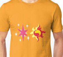 My little Pony - Sunset Shimmer + Twilight Sparkle Cutie Mark Unisex T-Shirt