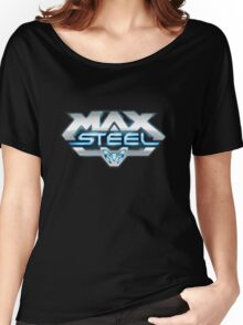 Max Steel logo Women's Relaxed Fit T-Shirt