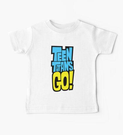 Teen Titans Go! Logo Baby Tee
