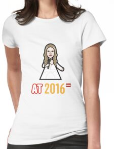 Austria 2016 Womens Fitted T-Shirt