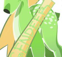 Dear, Gender Deer (Agender) Sticker