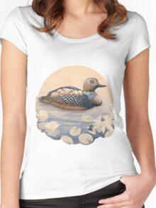 Mother Goose  Women's Fitted Scoop T-Shirt