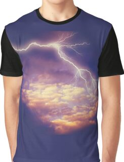 Storm Clouds and Lightning 2 Graphic T-Shirt