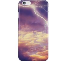 Storm Clouds and Lightning 2 iPhone Case/Skin