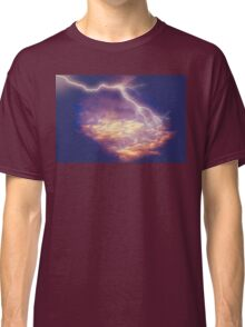 Storm Clouds and Lightning 2 Classic T-Shirt
