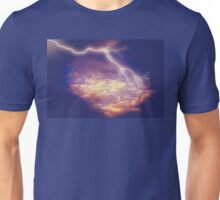 Storm Clouds and Lightning 2 Unisex T-Shirt