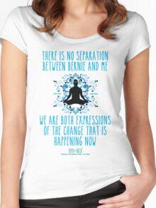 BernNaste Mantra #48 Women's Fitted Scoop T-Shirt