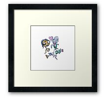 Be My Date? Framed Print
