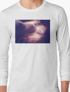 Storm Clouds and Lightning 3 Long Sleeve T-Shirt