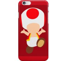 Toad (Red) iPhone Case/Skin