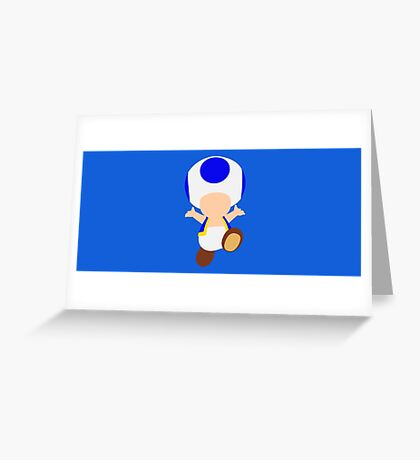 Toad (Blue) Greeting Card