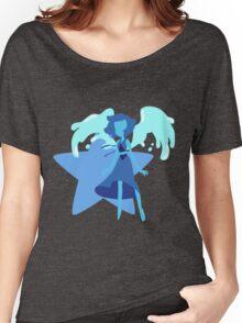 Lapis Lazuli (Dark Blue) Women's Relaxed Fit T-Shirt