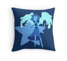 Lapis Lazuli (Dark Blue) Throw Pillow