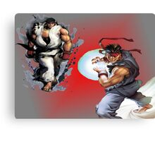 Ryu from Street Fighter Canvas Print
