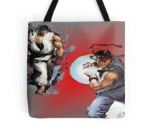 Ryu from Street Fighter Tote Bag