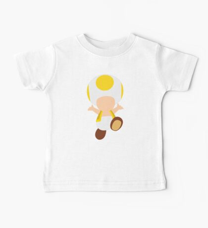Toad (Yellow) Baby Tee