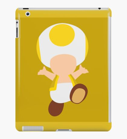 Toad (Yellow) iPad Case/Skin