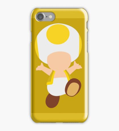 Toad (Yellow) iPhone Case/Skin