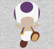 Toad (Purple) One Piece - Short Sleeve
