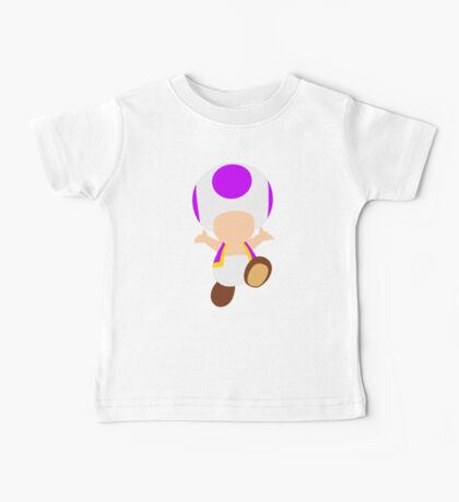 Toad (Purple) Baby Tee