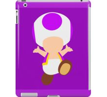 Toad (Purple) iPad Case/Skin