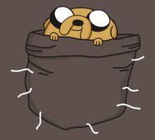 Pocket Jake (Adventure Time) Baby Tee
