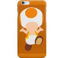 Toad (Orange) iPhone Case/Skin