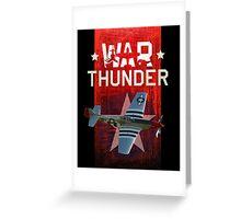 War Thunder P-51 Mustang Greeting Card