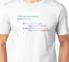 Act programming Unisex T-Shirt