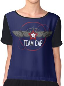 TEAM CAP Chiffon Top
