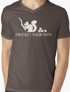 Protect your nuts Mens V-Neck T-Shirt