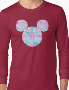 Crystal Mouse Long Sleeve T-Shirt