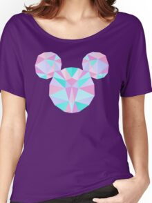 Crystal Mouse Women's Relaxed Fit T-Shirt