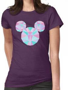 Crystal Mouse Womens Fitted T-Shirt
