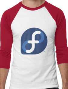 FEDORA LINUX Men's Baseball ¾ T-Shirt