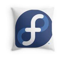 FEDORA LINUX Throw Pillow