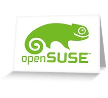OpenSuse Greeting Card