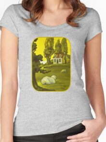 The Homestead Women's Fitted Scoop T-Shirt