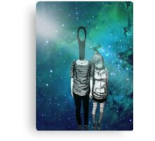 """Punpun and Aiko - Oyasumi Punpun"" Canvas Print"