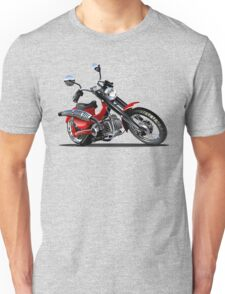 Cartoon Motorcycle Unisex T-Shirt