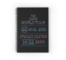 22nd August - Staples Center Spiral Notebook