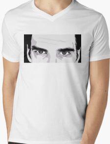 Nick Cave Portrait Mens V-Neck T-Shirt